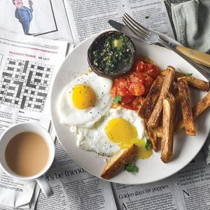 Uptown Egg & Chips